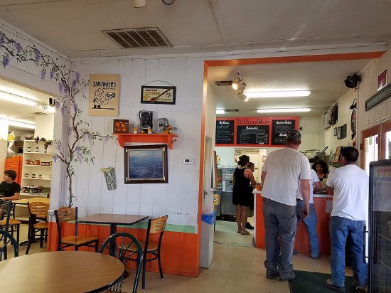 Strathmore, Californië: The line at The Orange Works