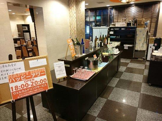 Kikugawa, Japão: チェックイン時のウェルカムドリンクサービスがうれしい