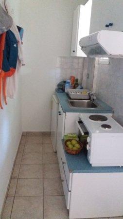 Hotel Stathis: Kitchen