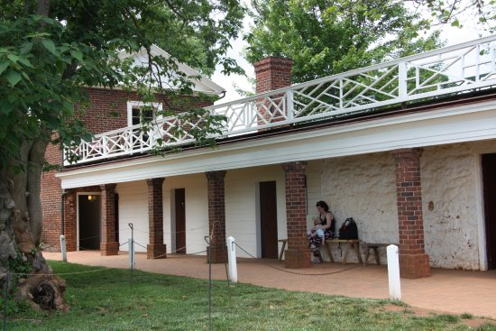 Thomas Jeffersonu0027s Monticello: Rooms In The South Dependency.
