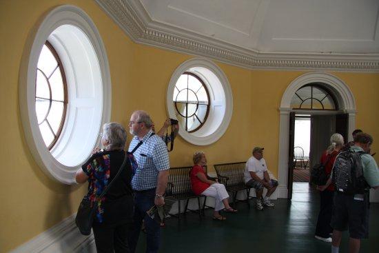 Charlottesville, VA: Inside the dome room.