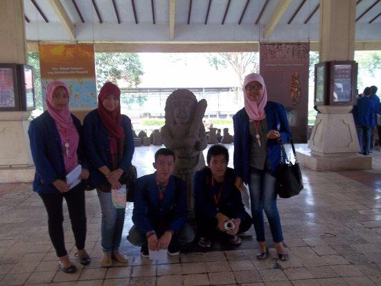 Mojokerto, Indonesia: didalam museum