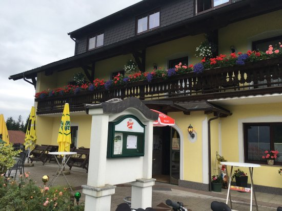 Nussdorf am Attersee, Avusturya: Lovely views from the gasthaus