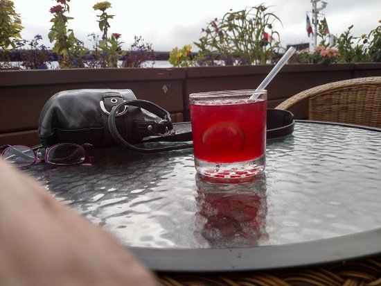 Dartmouth, Canada: Tequila and organic non sweetened cranberry juice