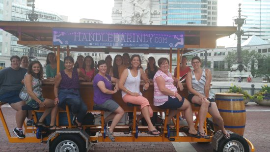 The Handle Bar : Out viewing the city