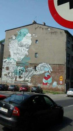 """Lodz Province, Pologne : A capital do """"Street art""""!"""