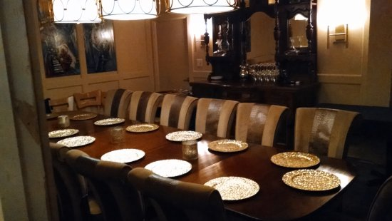 Private Dining Room Picture Of Perrone S Restaurant And Bar