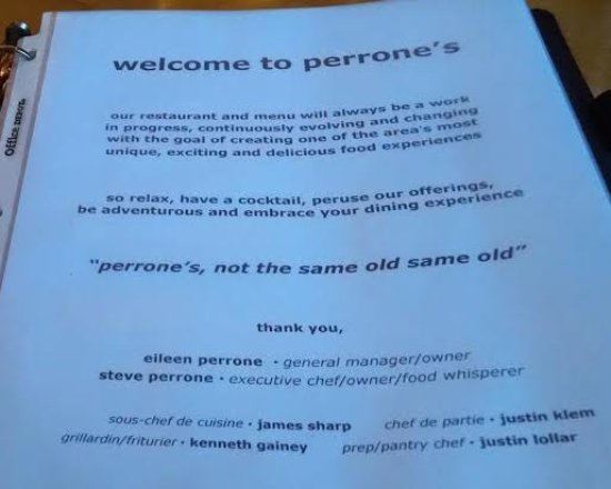 Pawleys Island, SC: Perone's welcome and philosophy.