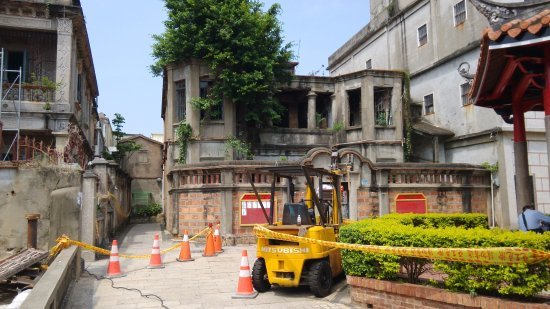 Kinmen, Taiwán: Another crumbling old home nearby