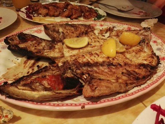 Turkish Diwan Restaurant: Grilled fish