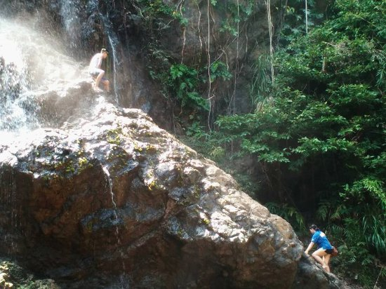 Conquering The Fear Picture Of Balagbag Falls Real