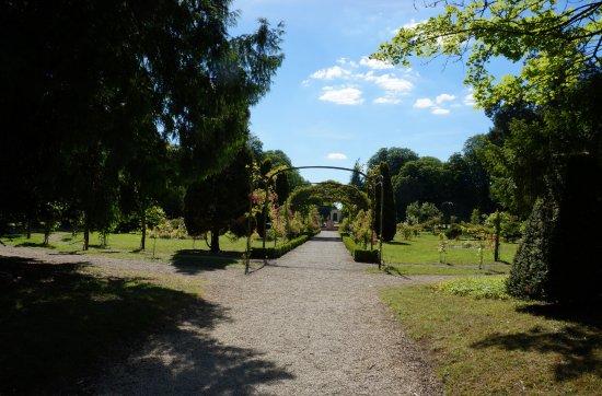 Richelieu, Prancis: jardin sur l'emplacement du château du Cardinal