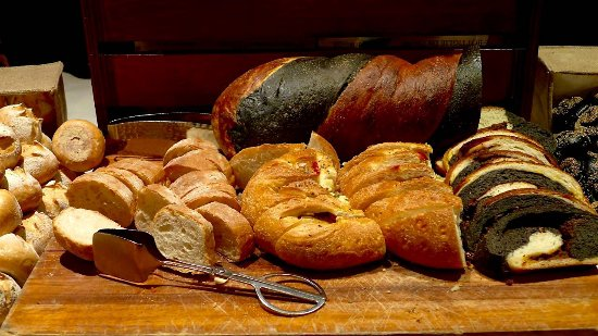 Basilico : Freshly baked, delicious bread spread.