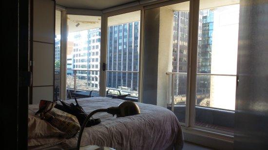Carrington Apartments : Room wz balcony