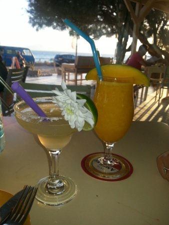 Picasso : Lime margarita and mango daiquiri