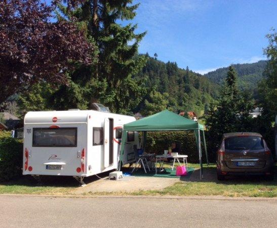Campingplatz Muenstertal : schöner Stellplatz