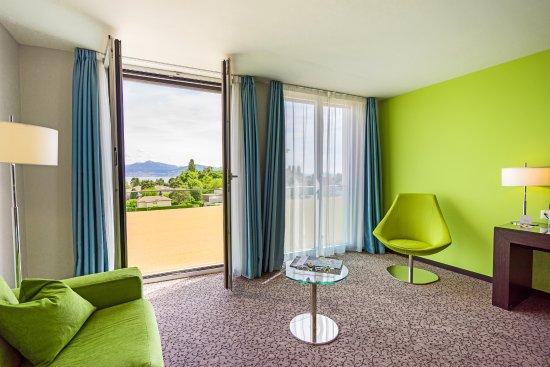 Saint Sulpice, سويسرا: Chambre supérieure