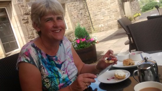 Gisburn, UK: Birthday treat of afternoon tea