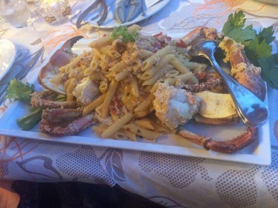 Ponsacco, Italia: Crab Penne Pasta