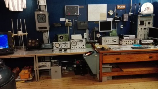 Delfzijl, Hollanda: The collection of navigation and communication instruments
