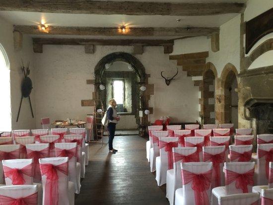 Leyburn, UK: Wedding Area.