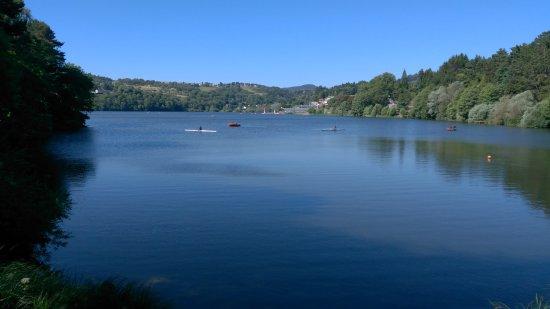 Aydat, Frankrike: Vue du lac