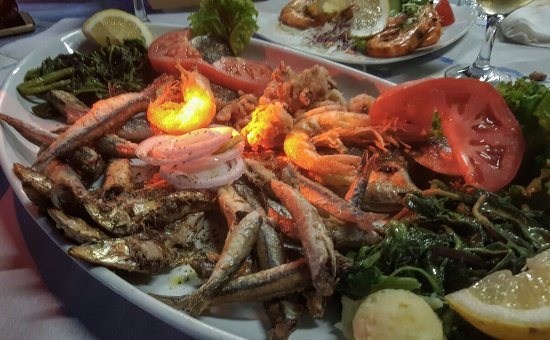 Plataria, Grecja: Fish plate