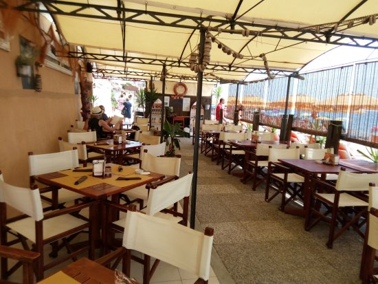 A bit of shade from hot sun - Picture of Ristorante Bagni Al ...