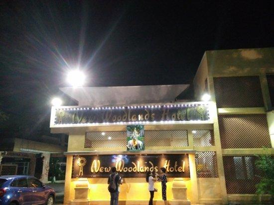 Vrindavan Restaurant: Outside.