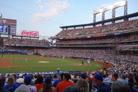 Flushing, NY: Baseball field