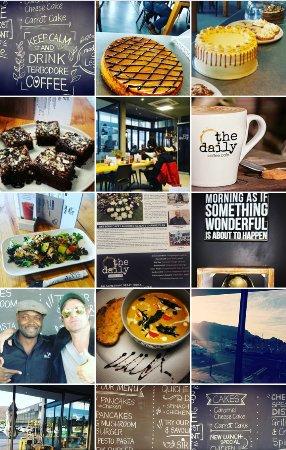 Noordhoek, Sør-Afrika: The Daily Coffee Cafe