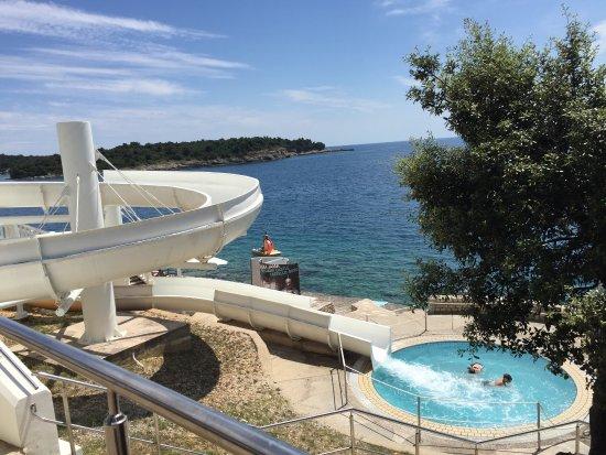 Verudela Beach & Villa Resort: Chute.