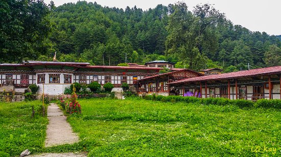 Bumthang District, Bhutan: Temple
