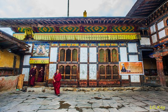 Bumthang District, Bhutan: Temple