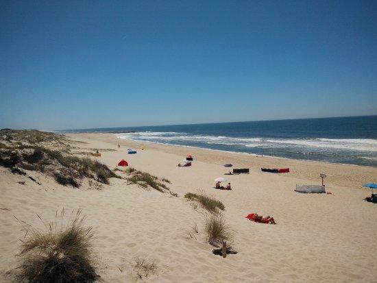 Praia de Mira, البرتغال: Playa a 3 minutos del camping