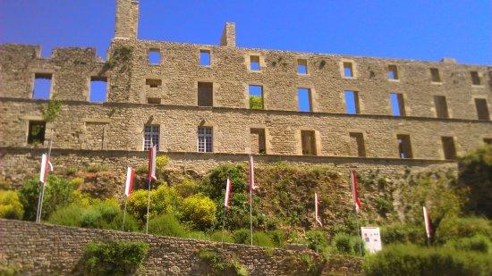 Severac-le-Chateau, ฝรั่งเศส: Façade du château.