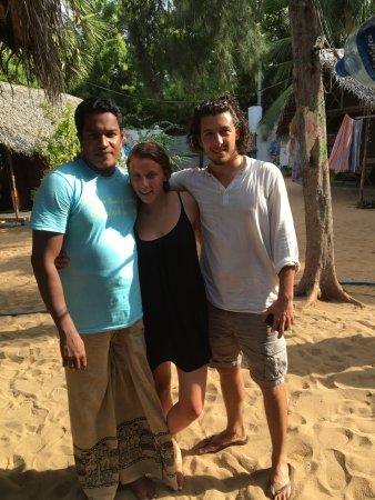 The Folly: The great Muba, my girlfriend Everleigh and I :)