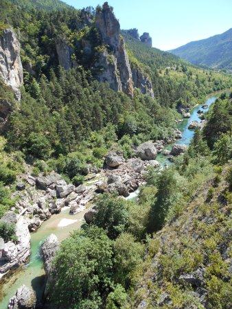 Les Vignes, Francia: Gorges du Tarn aval vu du Pas du Soucy.