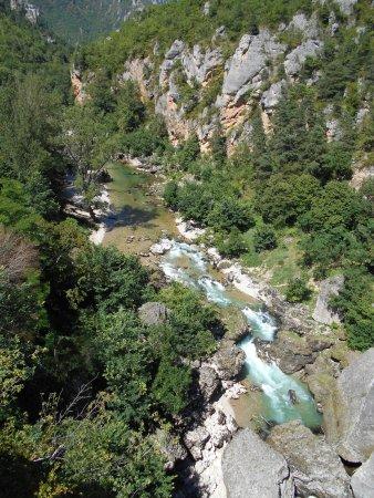 Les Vignes, Francia: Gorges du Tarn amont vu du Pas du Soucy.
