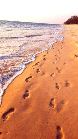 Takua Thung District, Tailandia: Поющий песок. По пути от отеля на пирс