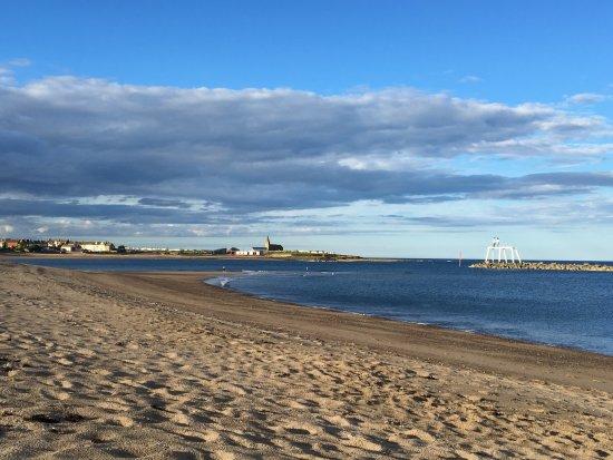 Newbiggin-by-the-Sea, UK: stunning newbiggin beach