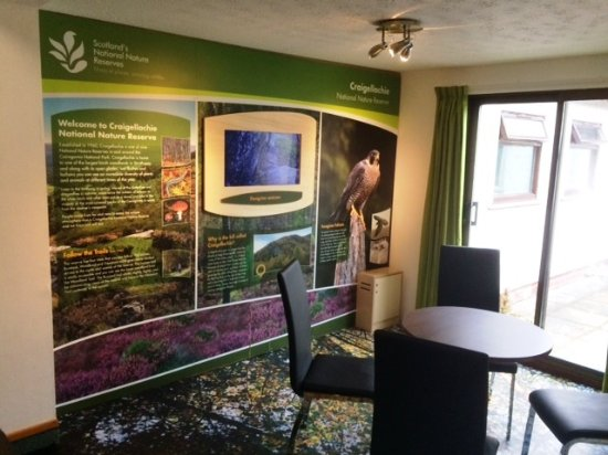 Aviemore Youth Hostel : SNH Display