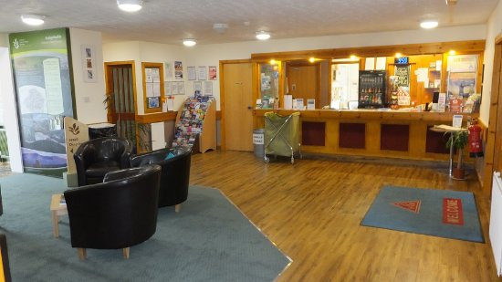 Aviemore Youth Hostel : Reception Area