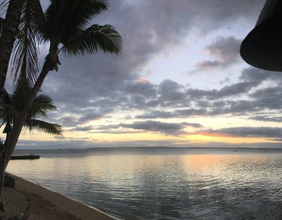 Toberua Island, Fiji: Sunset