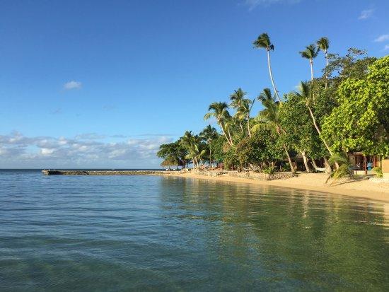 Toberua Island, Fiji: Resort Beach