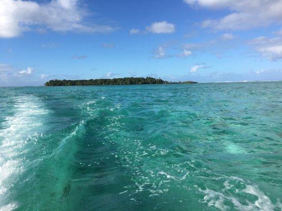 Toberua Island, Fiji: Heading home after Snorkelling