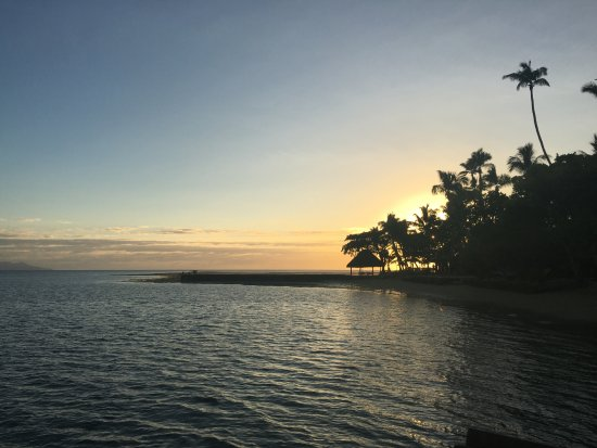 Toberua Island, Fiji: Sunrise.....