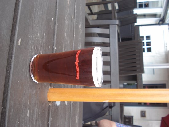 Isleworth, UK: My pint, forgotten what it was