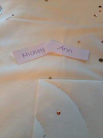 Hale, UK: Name plates