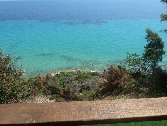 Nostos Hotel: Sea view from one of the terraces.